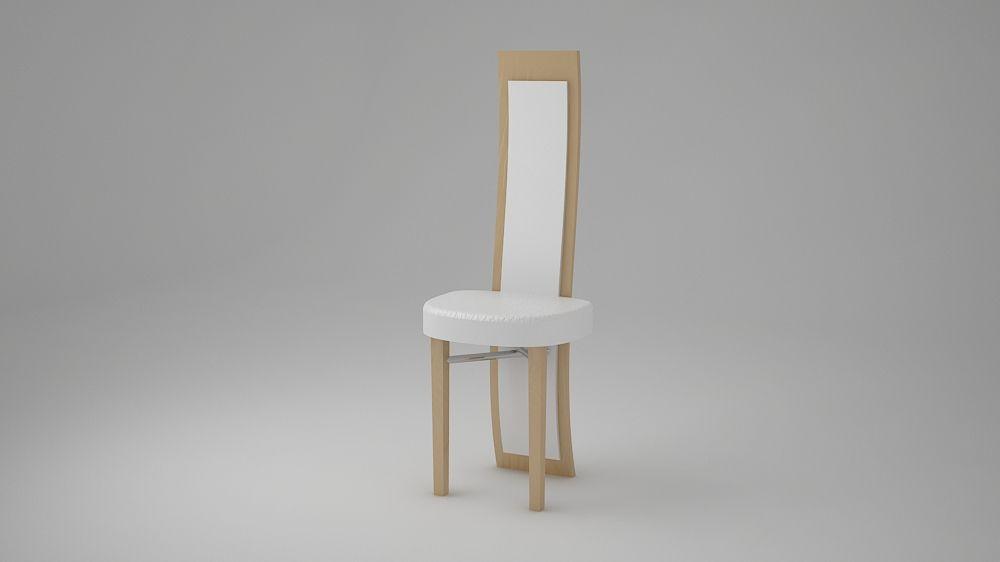 Diseño y modelado de una silla en 3D.
