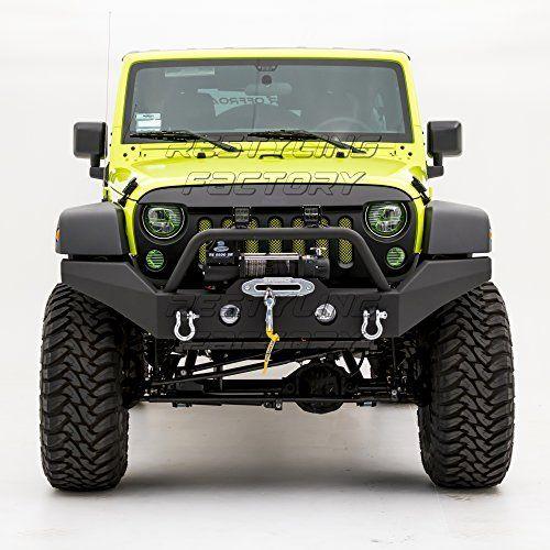 Amazon Com Hooke Road Jeep Wrangler Front Bumper Rock Crawler