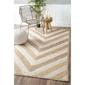 Nuloom Hand Woven Sueann Rug in Natural