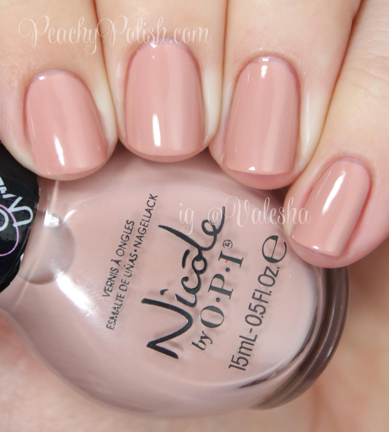 Nicole by OPI Southern Charm - Peachy Polish   Beauty/Nails~~ 美容 ...