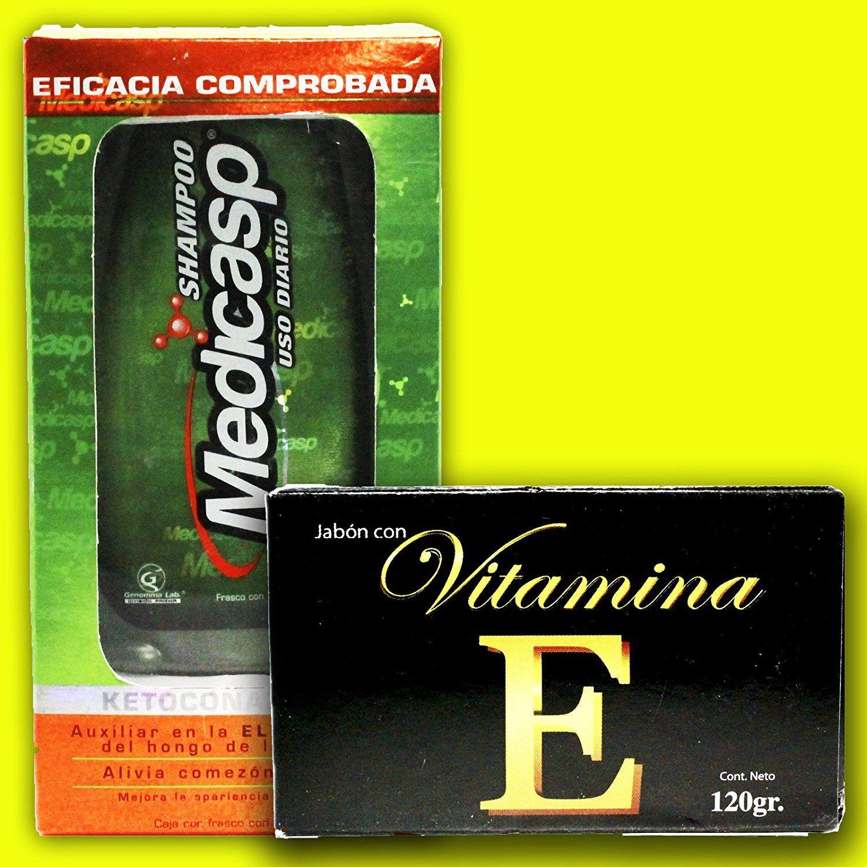 Medicasp Shampoo Vitamin E Soap for a Beautiful Hair and ...