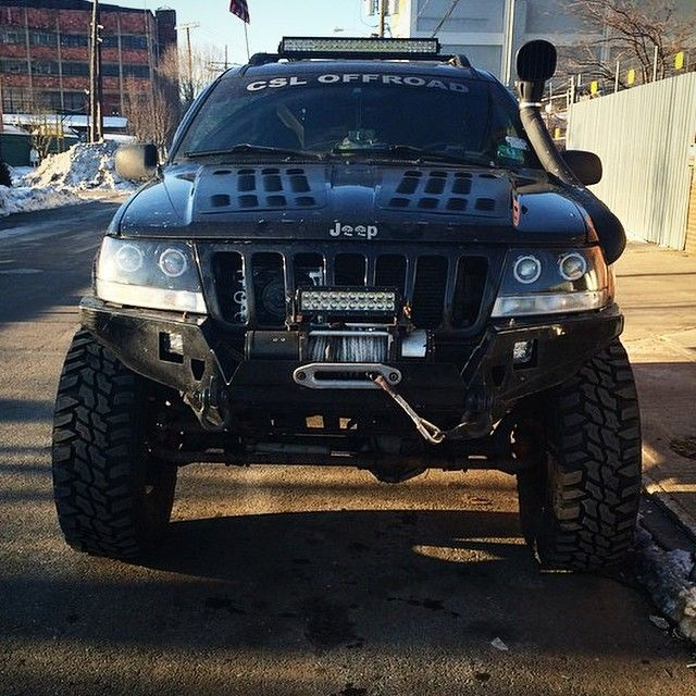 Good Morning My Jeeples Check Out This Badass Wj Jeep Shout Out To Guywithajeepproblem For This Photo Wj Jeep Jeeps Clso Jeep Wj Jeep Zj Jeep Bumpers