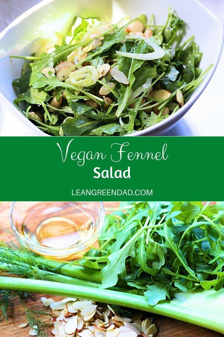 Raw Vegan Fennel Salad