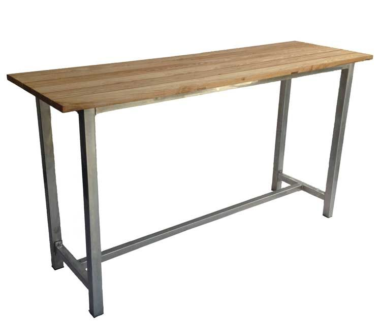 Sofa Tables · Galvanised Dry Bar With Wooden ...
