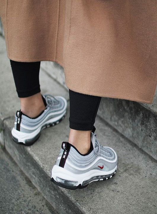 Fashion Girl Outfits Nike Air Max 97 Sneakers | shoes