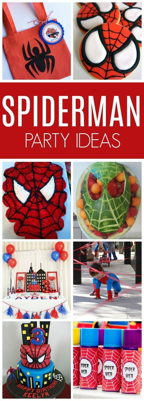 21 Spiderman Birthday Party Ideas