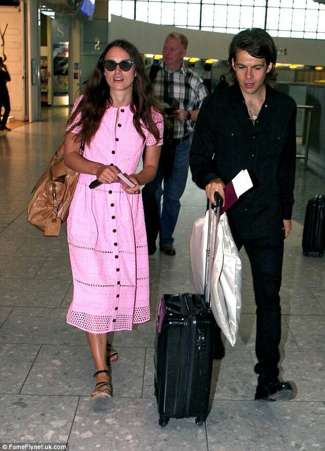 Lovely couple on their way to Nyc.September 6 2016.