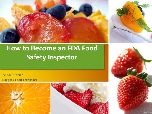 how to become an fda food safety inspectorzai estabillo via, Modern powerpoint