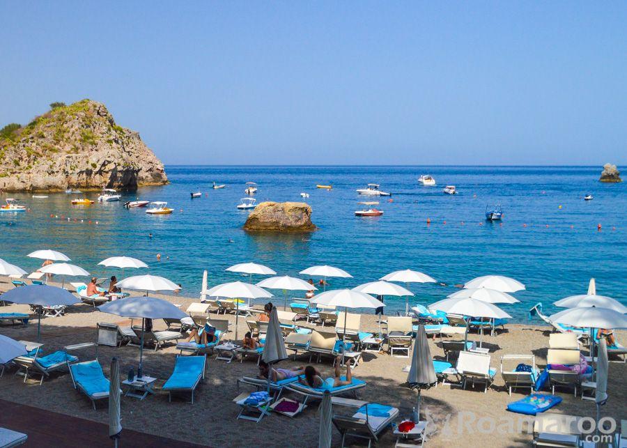 Belmond Grand Timeo Luxury Italy Hotel Beach