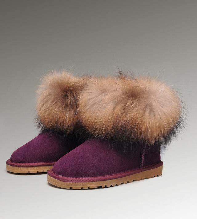 UGG Classic Mini 5854 Purple Boots For Women