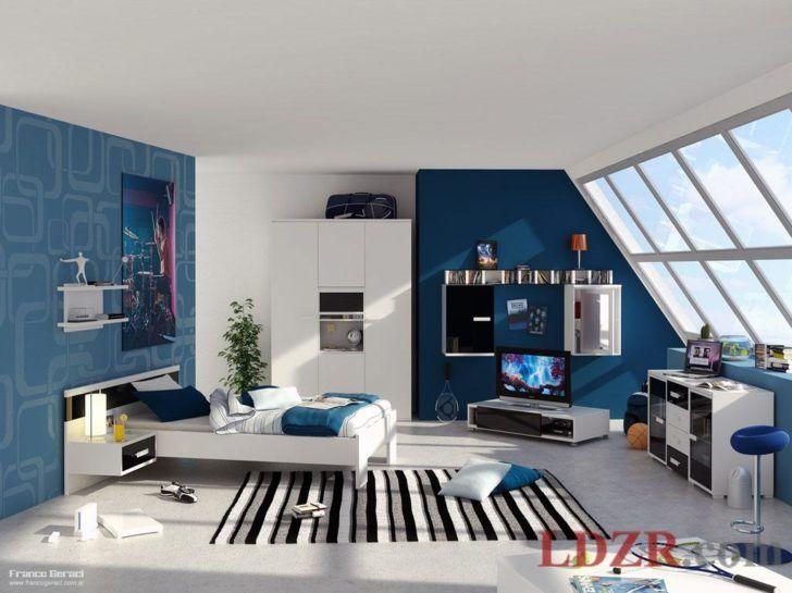 Jugendzimmer für jungs modern blau  Bedroom:Teenage Boys Bedroom Ideas With Nice Color Theme Impressive ...
