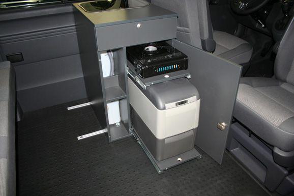 2013er Küchenblock mit Spüle, Kocher und Kühlbox Camper - spüle für küche