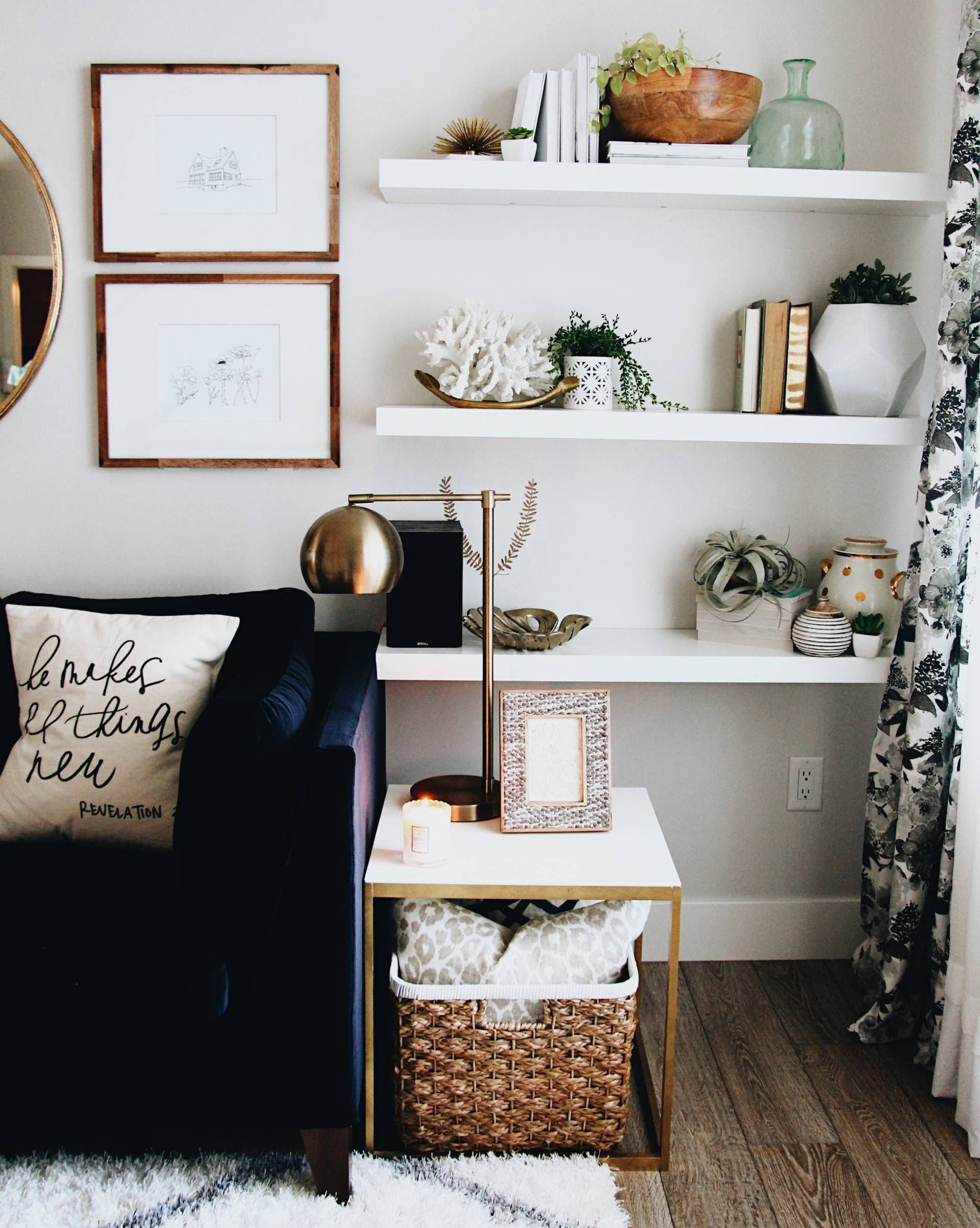 Updating your living room on a budget! | Home sweet apartment ...