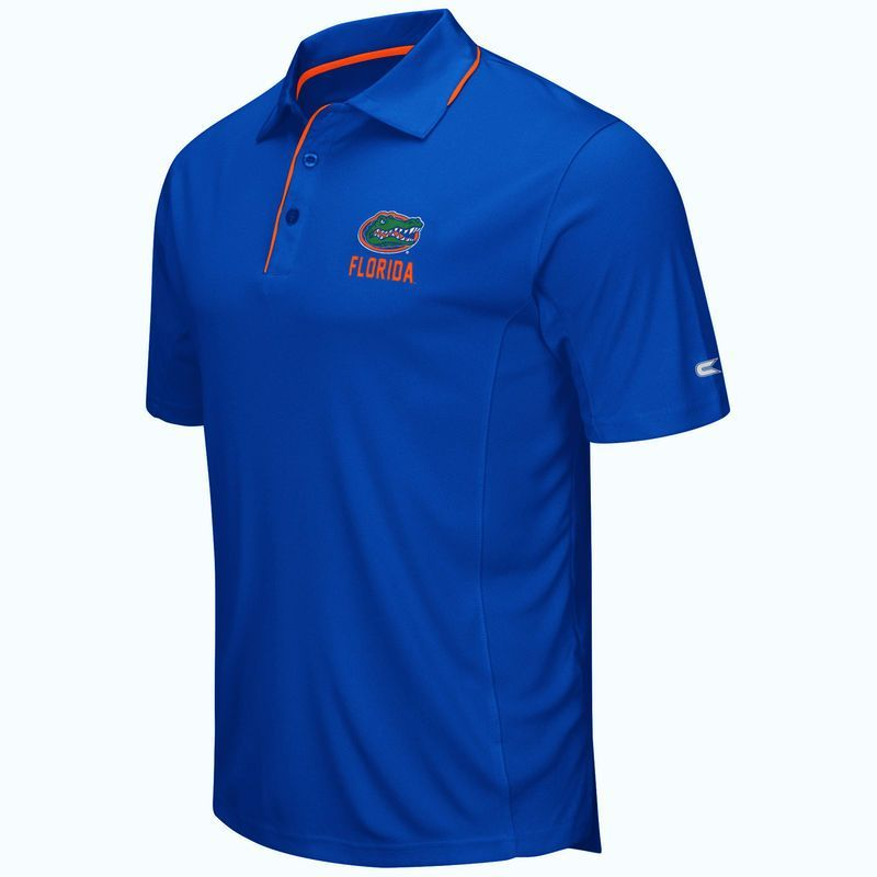 Florida Gators Colosseum Maestro Polo - Heathered Royal