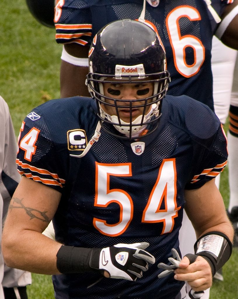brian urlacher Chicago sports teams, Chicago bears