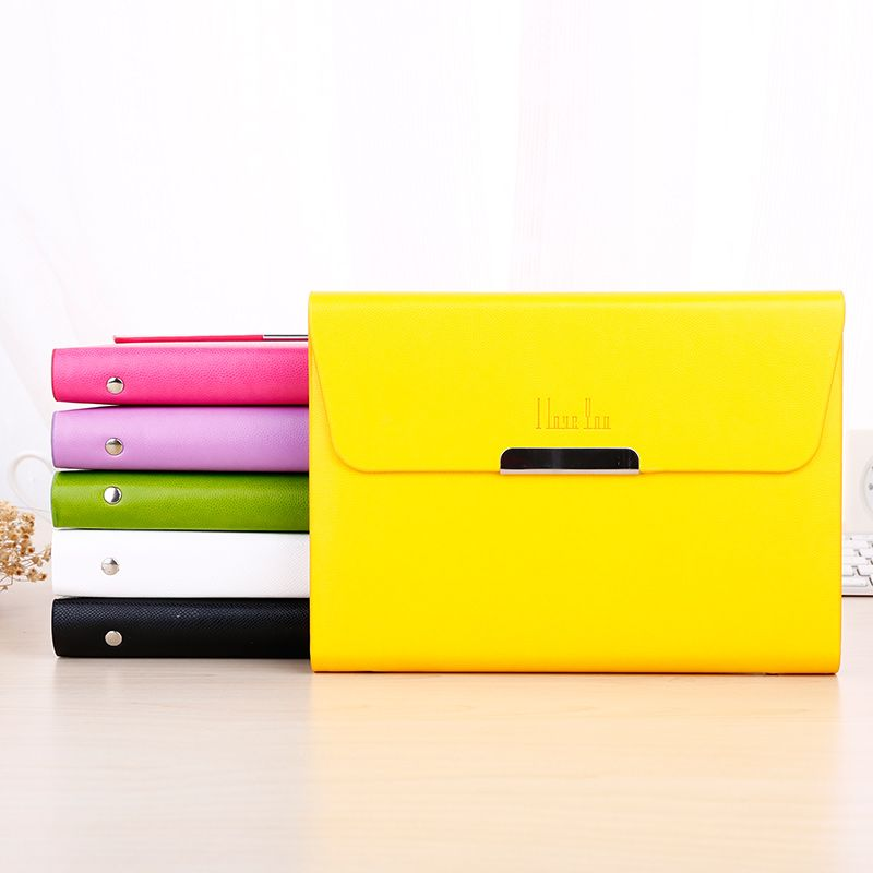 A5 Business Notebook Agenda Organizer Planner Diary Candy-colored