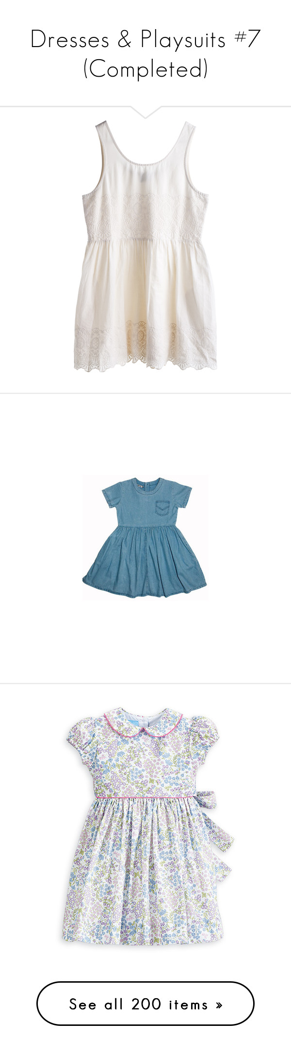 """""""Dresses & Playsuits #7 (Completed)"""" by elisabeth-galfano ❤ liked on Polyvore featuring dresses, tops, vestidos, shirts, mtwtfss weekday, clothes - dresses, blue dress, peter pan collar dress, lining dress and peter pan dress"""