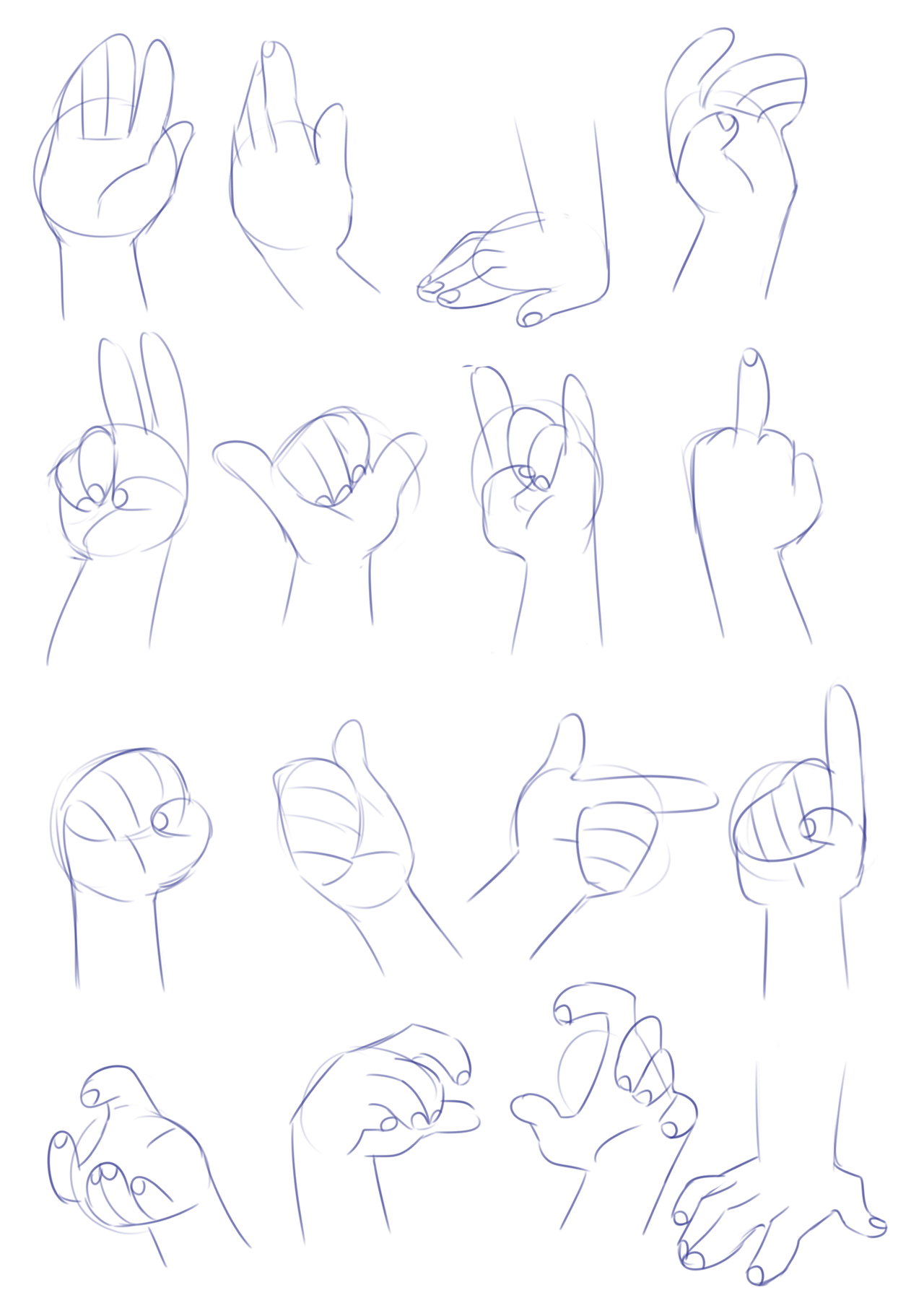 "mhpresents "" HAND REFERENCES! "" A little late again"