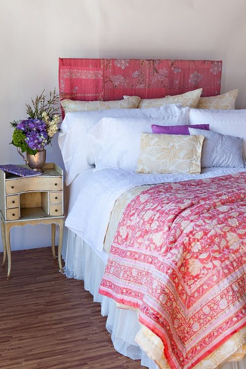 Image of Bright Floral Quilt