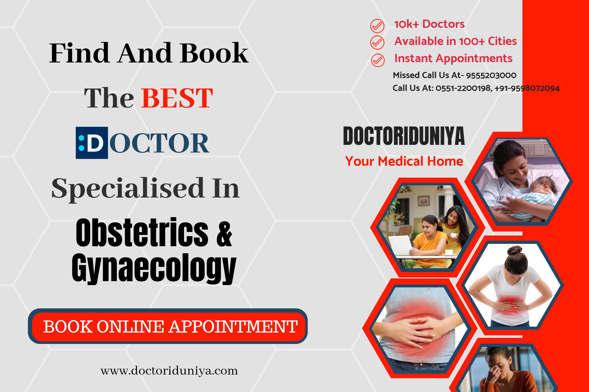 Find and book the best doctors specialized in obstetrics