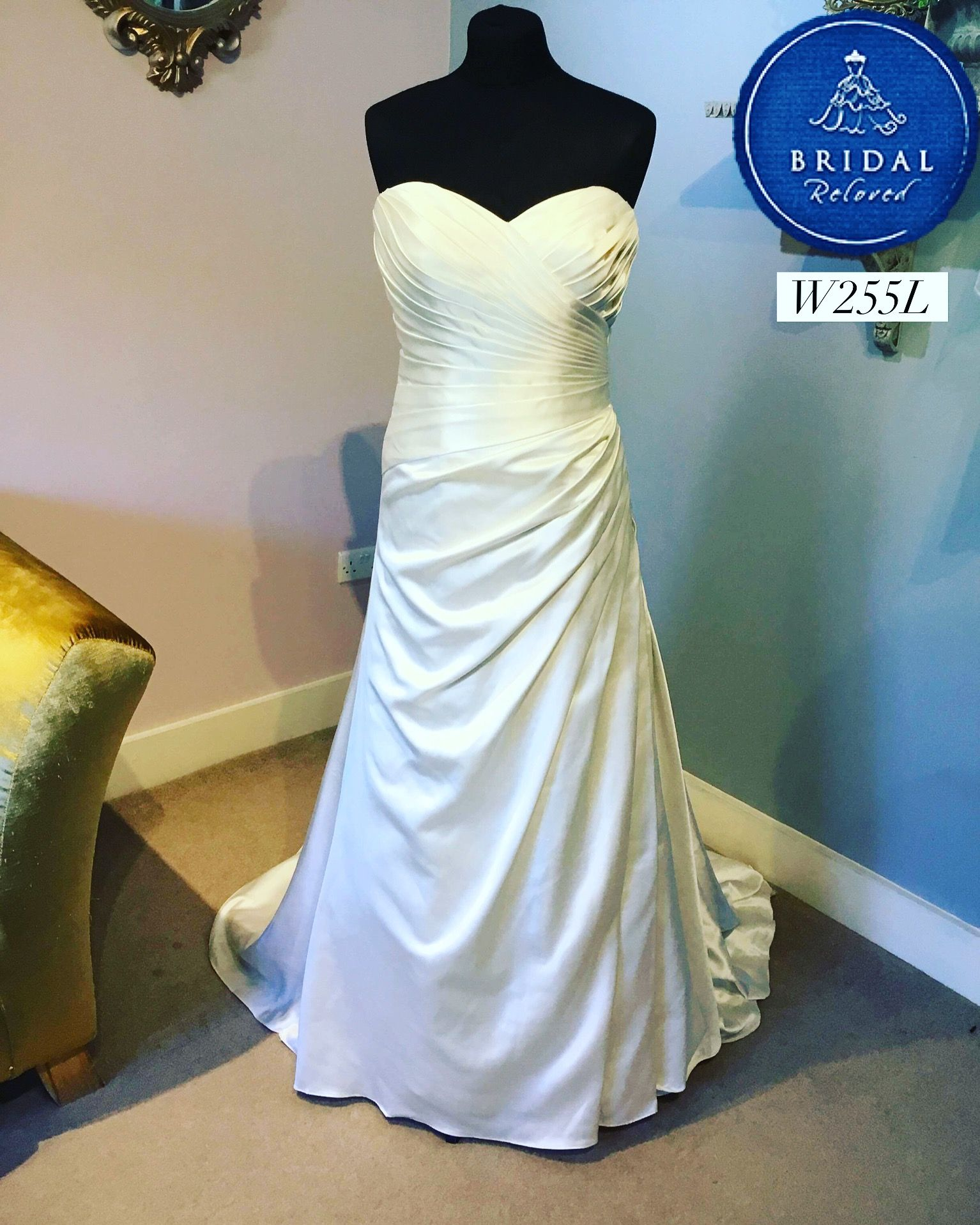 defccd8041925 ... Bridal Reloved Wallingford. 💓New Dress💓 Stunning Aline dress by  Ronald Joyce 💕 This is now available in