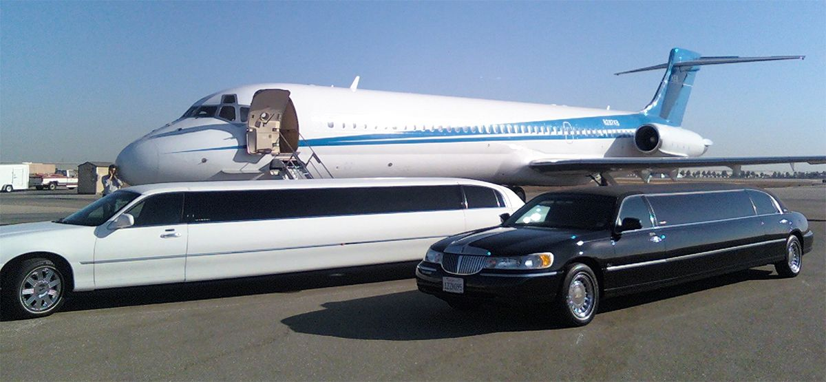 Black limo are one of the best airport limo transfer