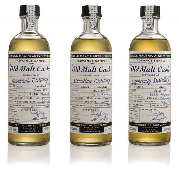 The Old Malt Cask 20cL Samples