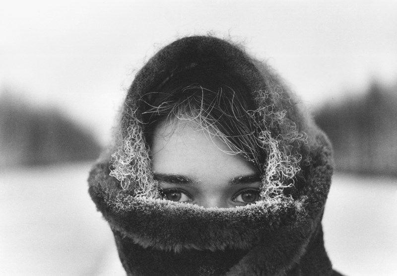 Зима, 1965. Фотограф Юрий Луньков