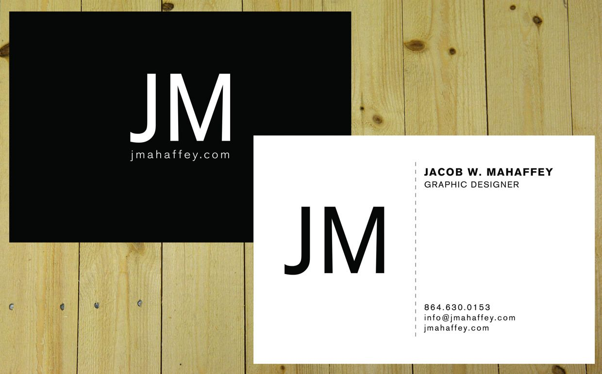 Graphic design personal business cards google search for Personal business cards examples
