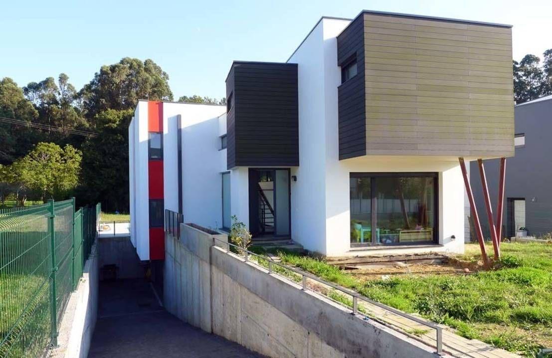 En Oleiros, La Coruña, se encuentra la vivienda unifamiliar…