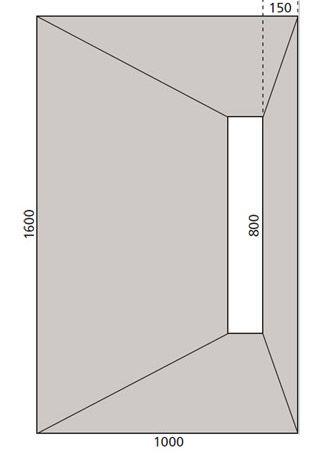 Wetroom Foam Cored Underlay Kit Linear Drain In 2020
