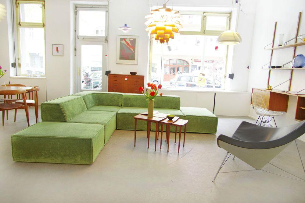 Sofa Cor Trio Form Ag Sofasystem Modular Seating Lounge 70er 60er