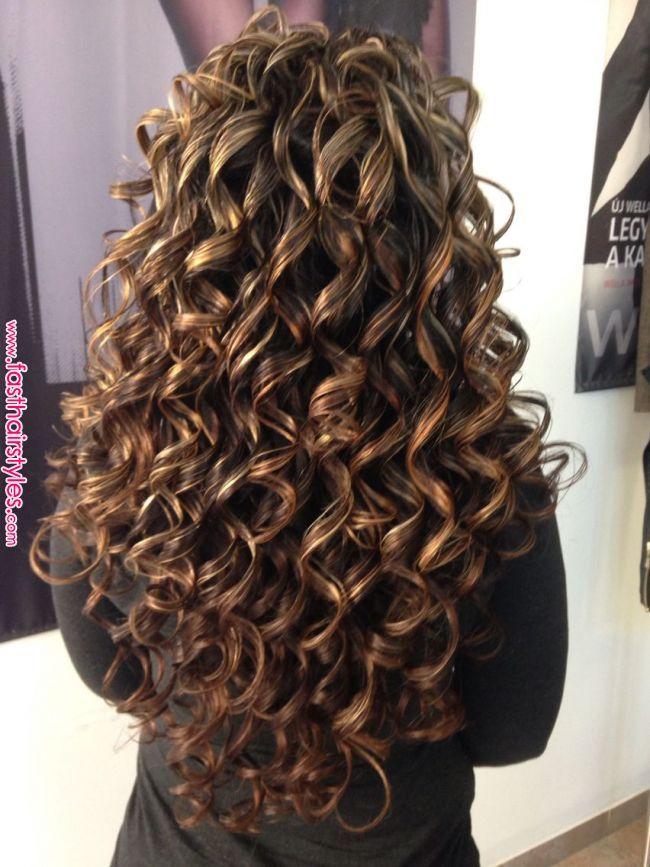 Long Curly Hair Haj In 2019 Pinterest Curly Hair Styles Hair And Permed Hairstyles Lon Long Hair Perm Curly Hair Styles Naturally Permed Hairstyles