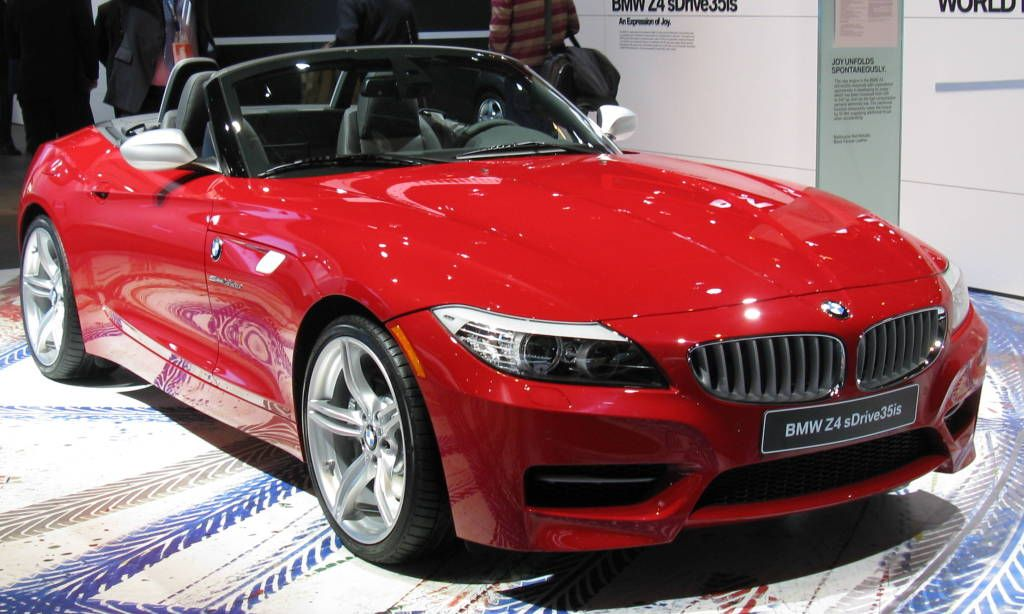 Bmw Z4 Convertible Red Color
