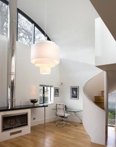 Flynn House The Manser Practice Spiral Staircase Modern Timber - Curvy-spiral-house-design