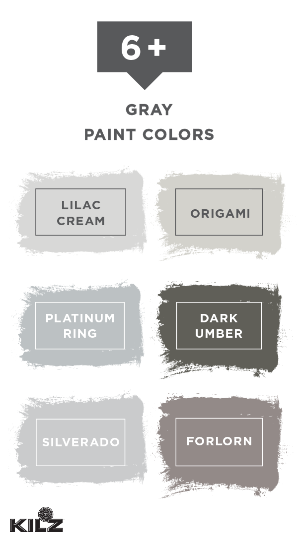 Neutral Is Back In A Big Way Thanks To This Collection Of Gray Paint Colors From Kilz Comple Bedroom Paint Colors Master Walmart Paint Colors Grey Paint Colors