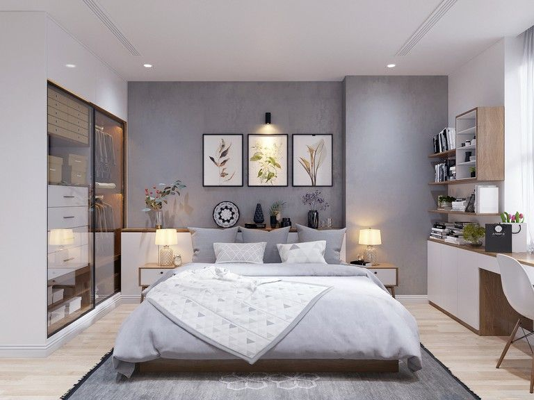 45 Best Modern Scandinavian Style Home Design For Young Families In 2020 Bedroom Design Trends Master Bedroom Design Bedroom Trends