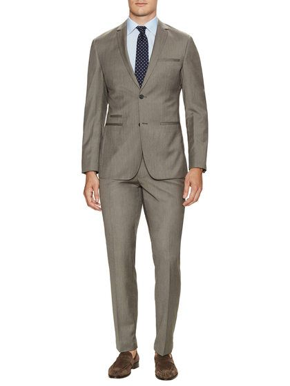 Birdseye Regular Fit Suit by Shoreditch at Gilt