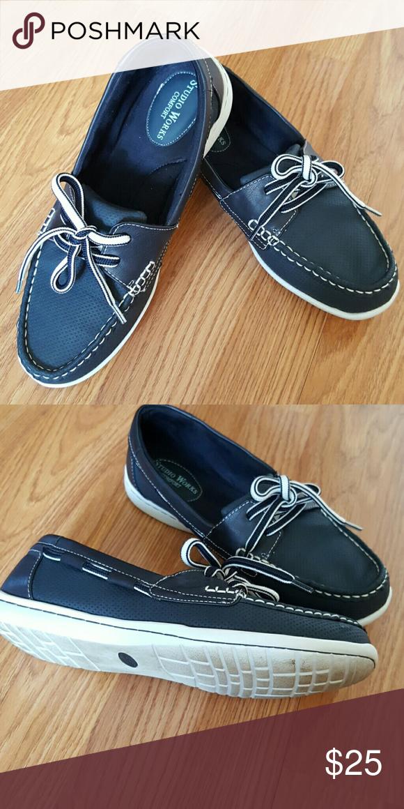 Navy blue color, Comfortable shoes