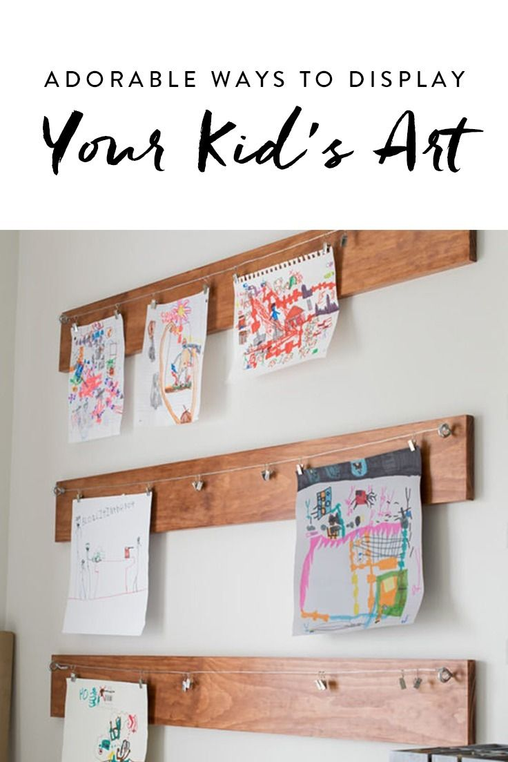 office playroom ideas. Adorable Things To Do With Your Kid\u0027s Art (Aside From Just Slapping It On The Fridge) Office Playroom Ideas