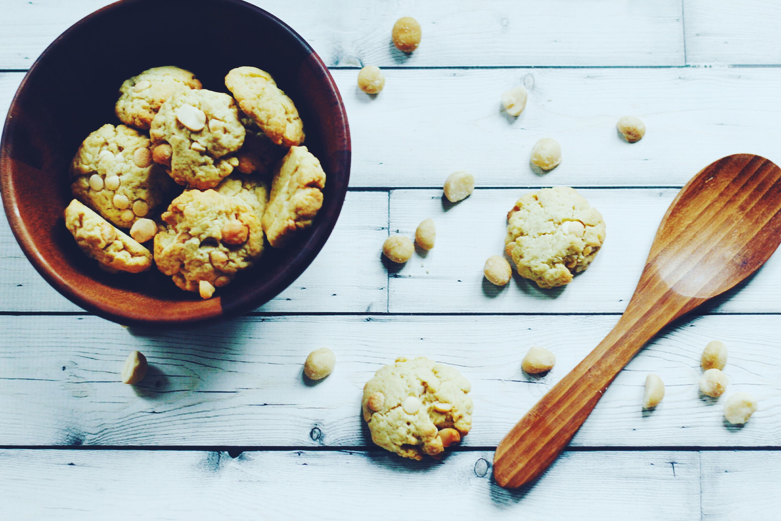 white chocolate macadamia cookies - Powered by @ultimaterecipe