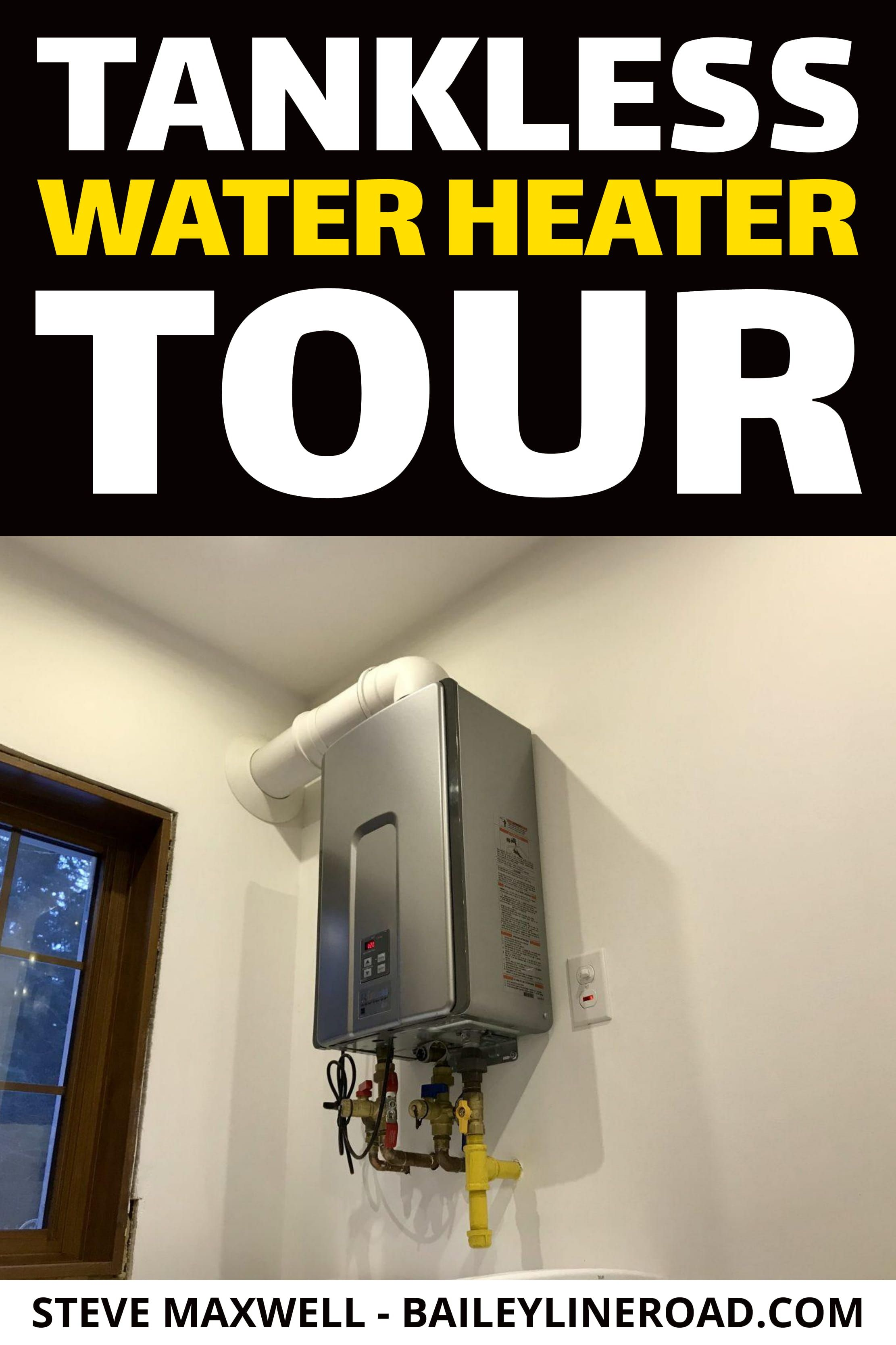 Video Tankless Water Heater Tour Water Heater Tankless Water Heater Heater