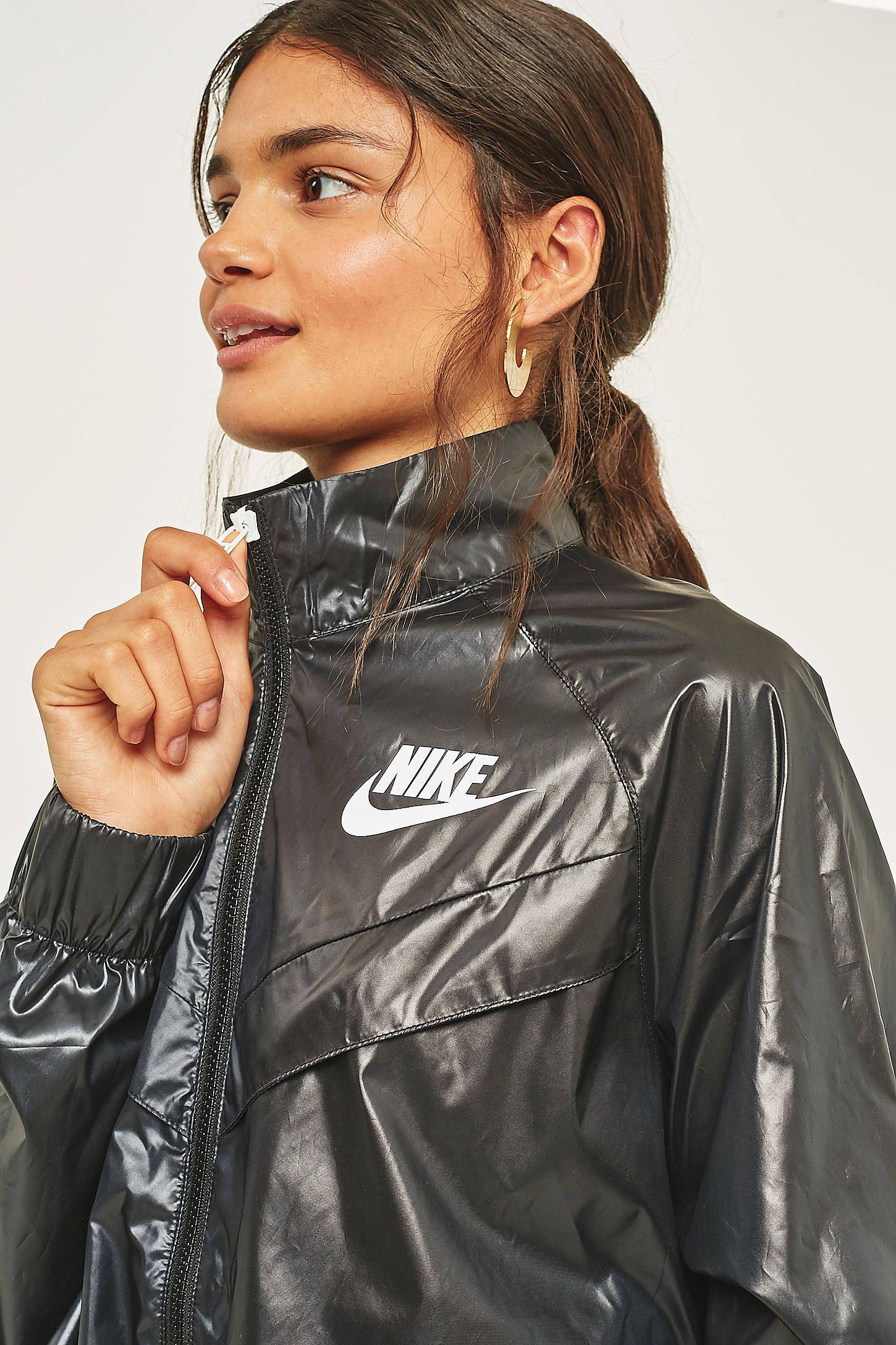 f745d8d70ceb Slide View  5  Nike - Coupe-vent virgule Black Raincoat
