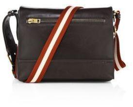 Bally Tamrac Calf Leather Messenger Bag