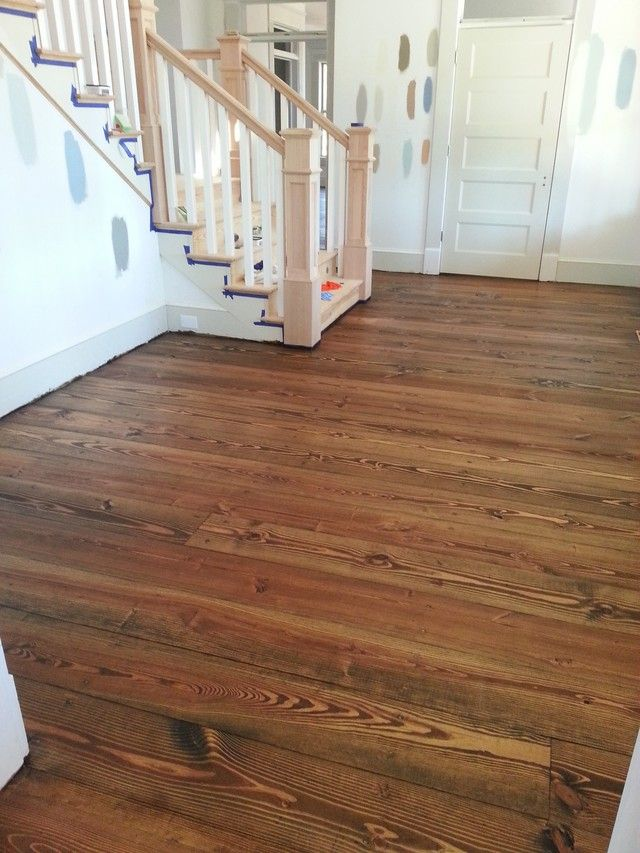 Southern Yellow Pine Floors Thoughts Finishes Building A Home