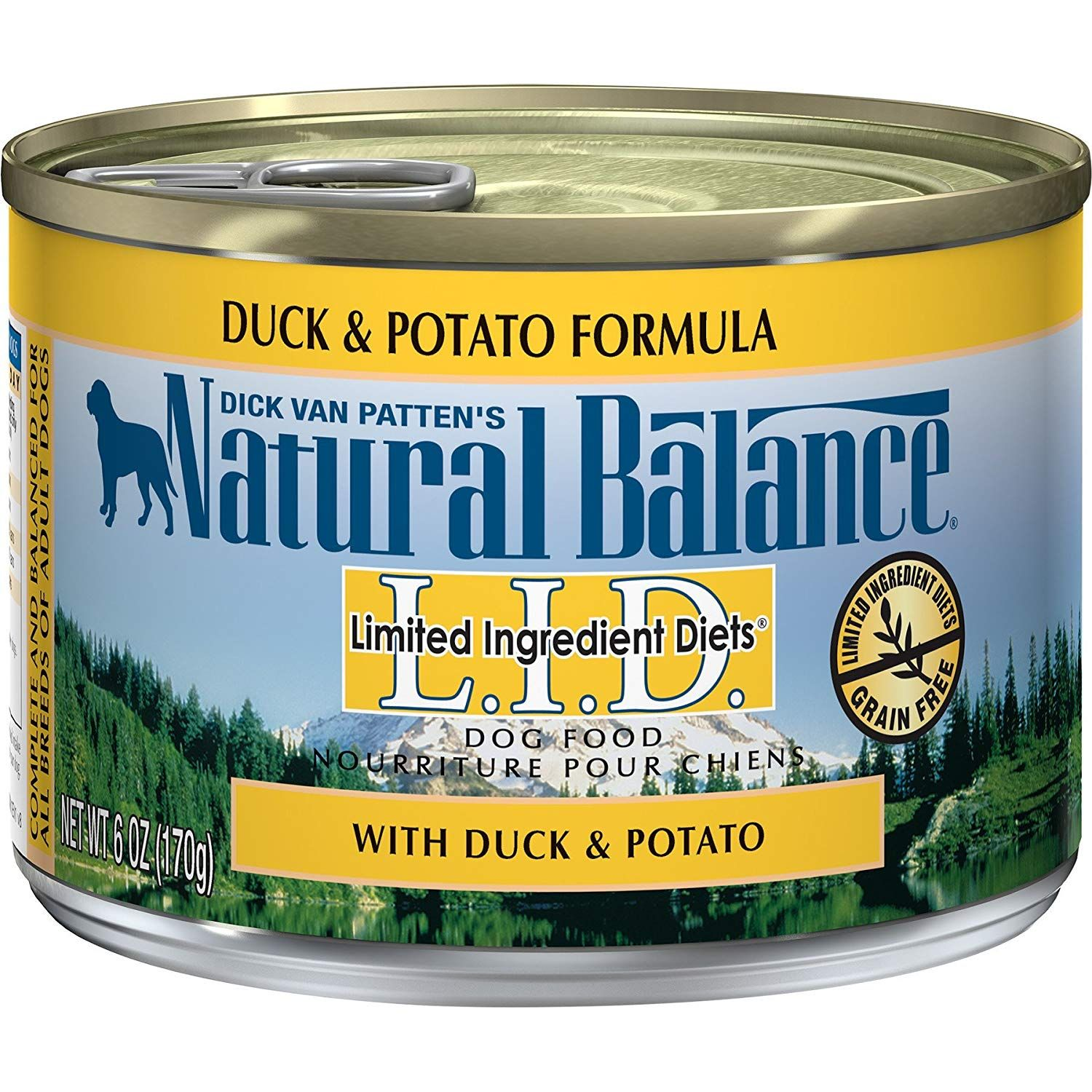 Natural Balance L I D Limited Ingredient Diets Duck And Potato Formula Wet Dog Food 6 Oz Case Of 12 Read Mo In 2020 Dog Food Recipes Free Dog Food Wet Dog Food