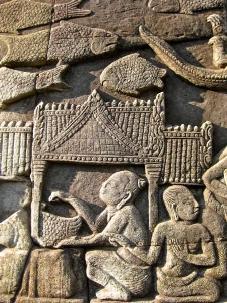 Relief from Ankhor Wat, Cambodia