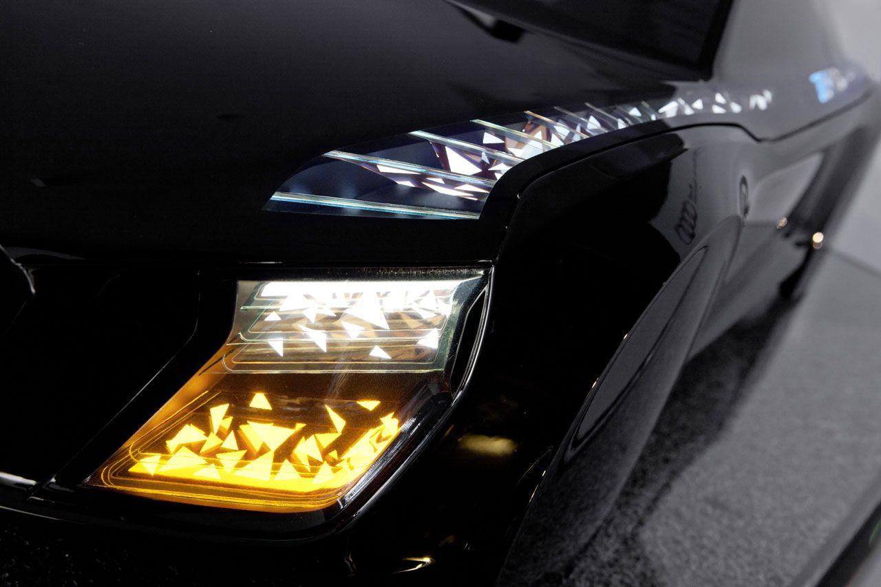 New Lighting Technologies From Audi The Audi Matrix Led Headlights