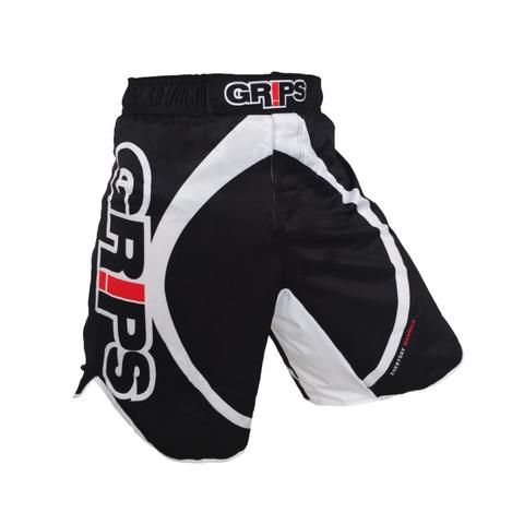 Grips Black White Pattern Shorts 2 Colors Mens Workout Clothes Mma Shorts Mma Fight Shorts
