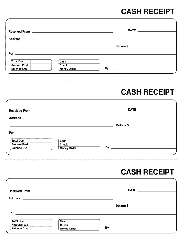 Receipt Template Fill Out And Sign Printable Pdf Template Signnow Throughout Blank Money Order Temp Receipt Template Invoice Template Free Receipt Template